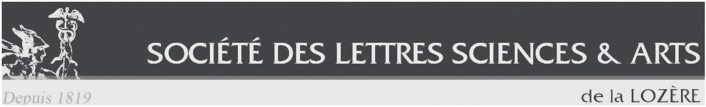 Société des Lettres des Sciences et des Arts de la Lozère